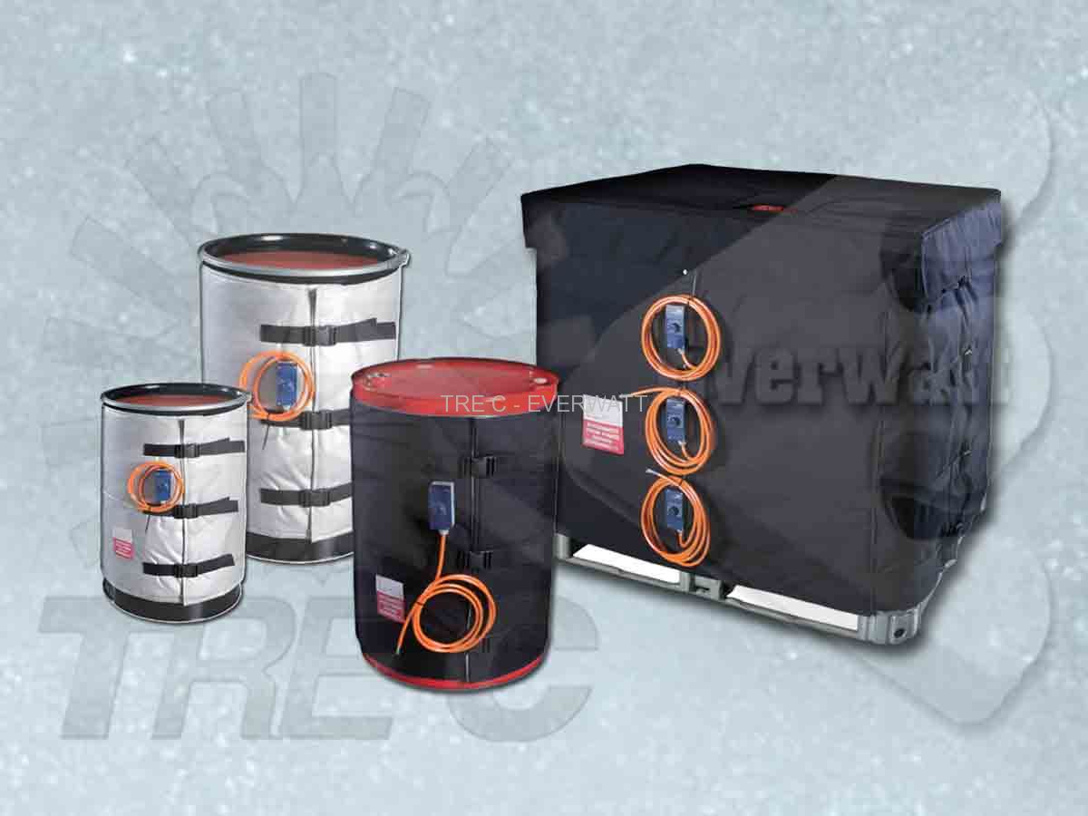Drum Heating Jacket Drum-heating-blankets