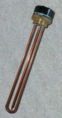 The Water Boiler Heaters And Resistors On Threaded Fitting