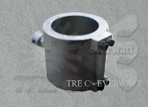On plate resistors (die-casted aluminium) ATEX