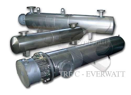 Process heaters / electric heat exchangers