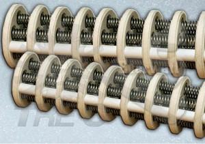 Bare wire resistors