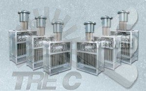 Air Duct Electric heaters with explosion-proof ATEX connection head