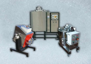 Heated diathermal oil tanks